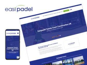 Easipadel-Website-Design