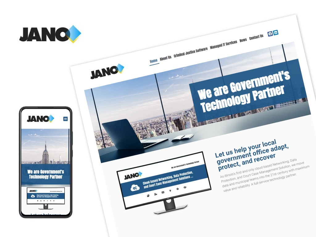 JANO-Technologies-Website-Design