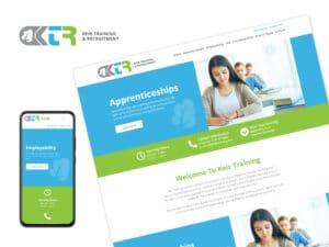 Keir-Training-Website-Design